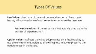 Environment and Natural Resource Economics -Tietenberg, Chapter 4