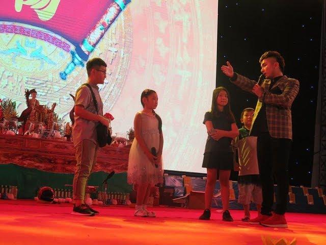 Dương Nghi Đình cùng bốn ngôi sao nhí họ Dương cùng tỏa sáng ở lễ hội mùa xuân tại Cần Thơ.