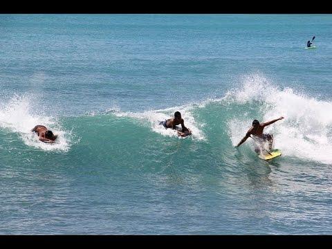 ハワイのボディボード専用ビーチ...