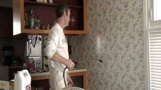 Removing Wallpaper the Easiest and Fastest Way before Painting Part 1