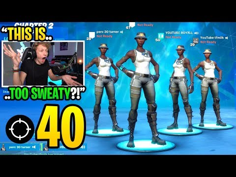 THIS Is What Happens When 4 RECON EXPERTS Squad In Chapter 2 Fortnite... (super Sweaty)