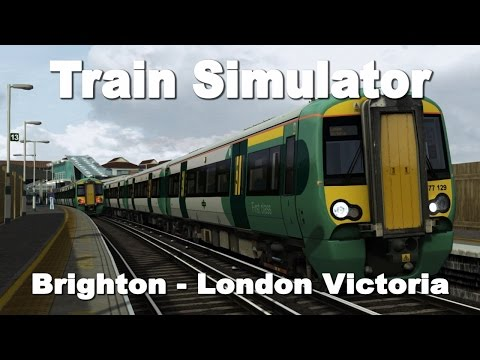 Train Simulator: Brighton - London Victoria with Southern Class 377