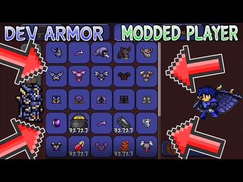 All Developer Armor Hacked Player V2 for Terraria 1.2.4 iOS/Android 2017