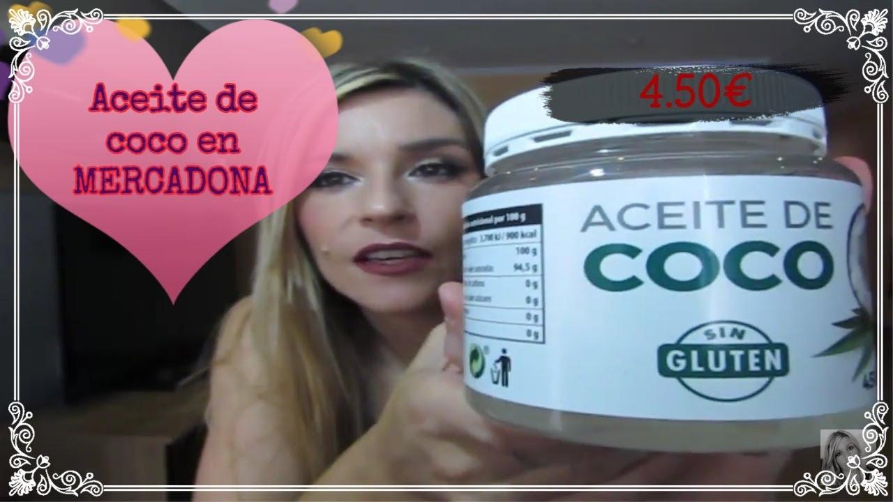 Aceite De Coco Para El Pelo Ya En Mercadona Youtube