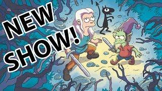 FIRST LOOK: New Animated Matt Groening Netflix Show 'Disenchanted' thumbnail