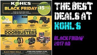 Gamers Guide To Black Friday - Kohl's Black Friday, Xbox One S, PS4, Controllers, Can Openers