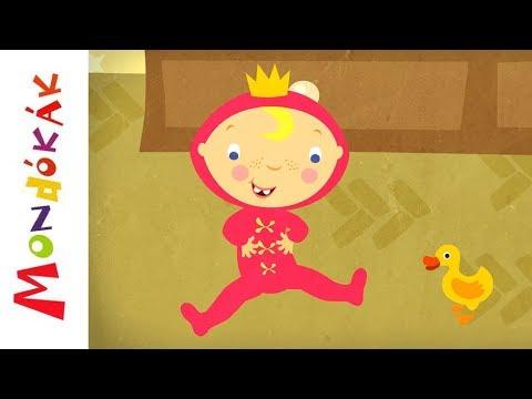 Mozgatja a fejecskéjét | Gyerekdalok és mondókák, rajzfilm gyerekeknek thumbnail
