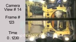 Краш Тест Audi Q7 2007 (2009 Nhtsa)
