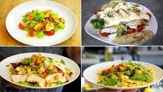 4 супер-рецепта теплых салатов