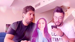اسئلة محرجة مع غيث مروان !!  مين اجمل بنت على اليوتيوب ؟