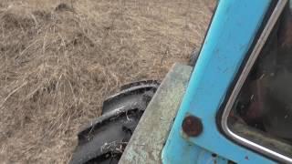 первые уроки вождения трактора
