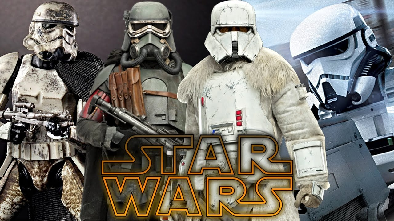 Image result for solo trooper types