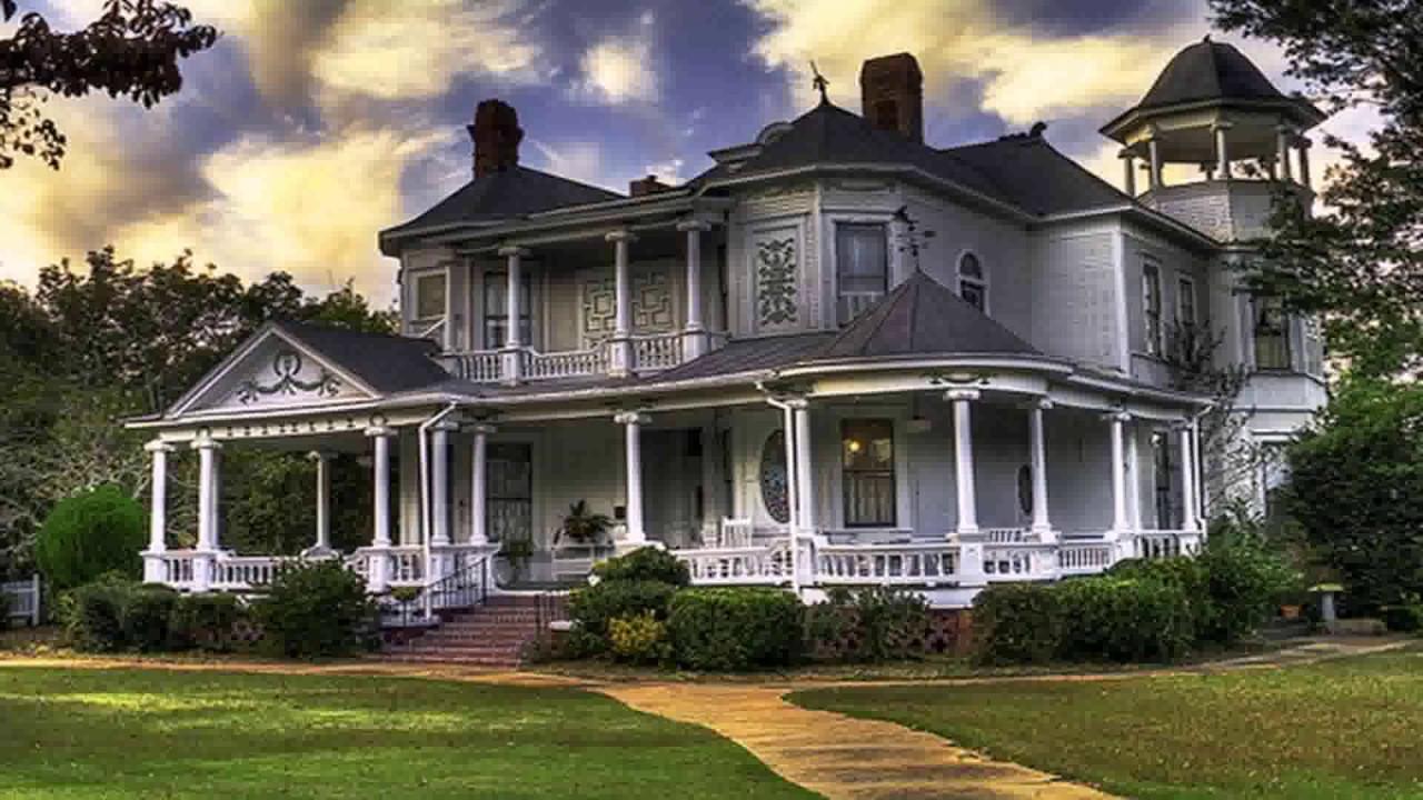 House Plans Southern Plantation Style - YouTube