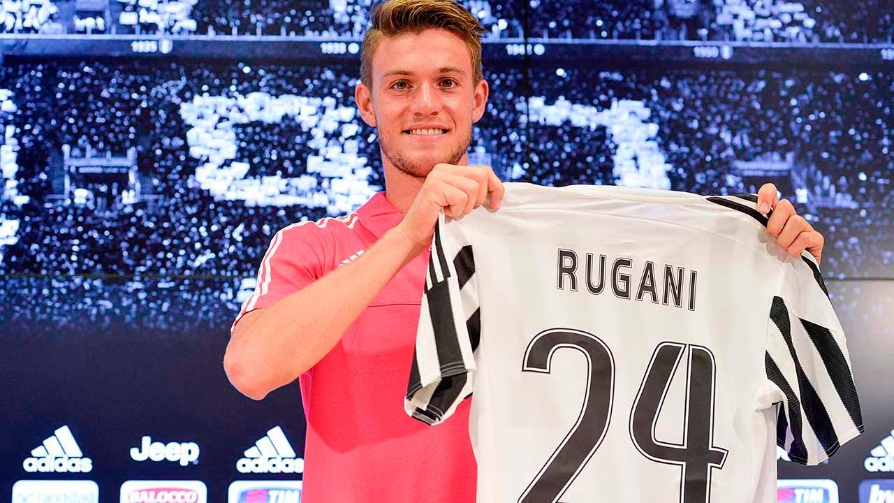 Juventus Center, la conferenza stampa di Daniele Rugani - Rugani press conference at Juventus Center