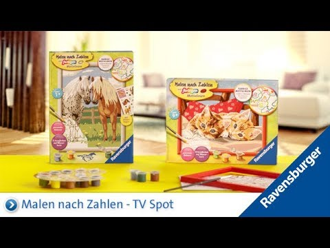 Ravensburger Malen Nach Zahlen Tv Spot