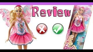 Review de Brinquedos   boneca Barbie fada  Mix Match Fada Mattel