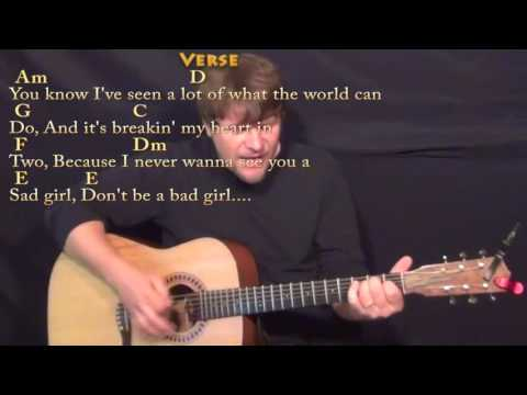 Wild World (Cat Stevens) Guitar Cover Lesson with Chords/Lyrics - Munson