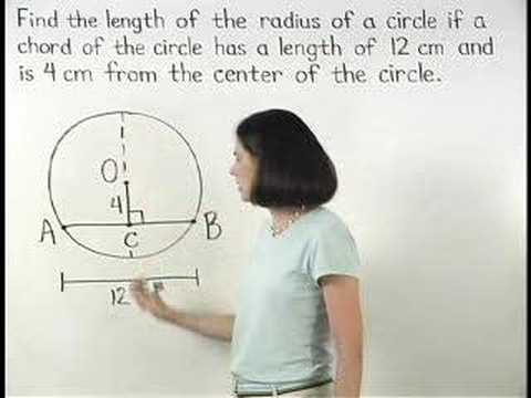 Arcs and Chords - MathHelp.com - Geometry Help - YouTube