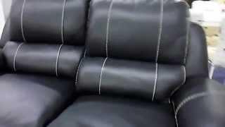 Черный кожаный диван и кожаные кресла для дома (реклайнеры)(В интернет магазине http://rozkwit.com.ua можно купить Черный кожаный диван и кожаные кресла для дома - реклайнеры..., 2015-06-26T18:47:31.000Z)