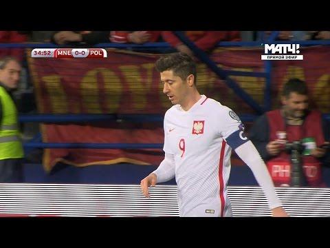 Robert Lewandowski vs Montenegro Away HD 1080i (26/03/2017) by 1900FCBFreak