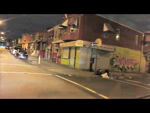 PHILADELPHIA BADLANDS HOOD AT NIGHT