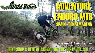 ADVENTURE ENDURO MTB Spain ( Málaga ) RENTAL SERVICE / GUIDE - Wild Bikes shop