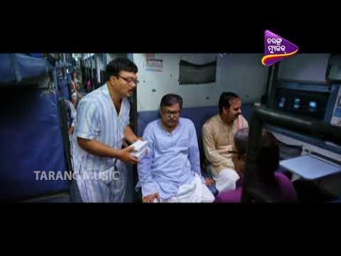 Love Station Comedy Clip | Funny Train Scene | Papu Pom Pom | Babushan | Elina