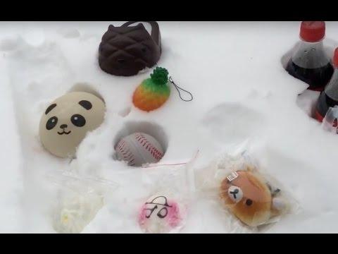 Squishy Snow Experiment