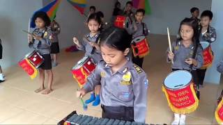 Drumband cilik Arrahman, Jagakarsa