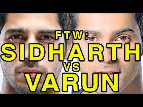 For The Win: Sidharth Malhotra vs Varun Dhawan