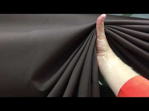 Dark Brown Broadcloth | Waverly Heritage Chocolate | Upholstery & Curtain Fabric