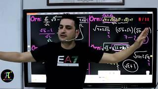 Köklü Sayılar 4(İçi Tam Kare Olan İfadeler) I Ali Ahsen Akti
