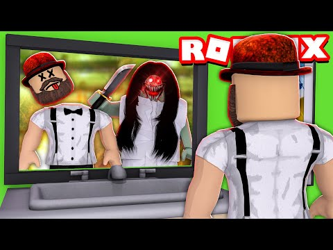 CAREFUL with the GIRL in the MIRROR in ROBLOX GERTRUDE!! |