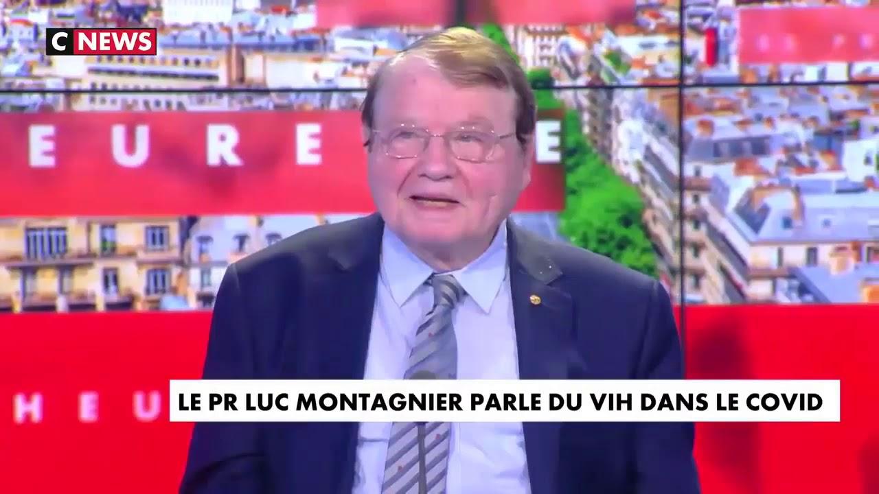 Entrevista a Luc Montagnier en CNews