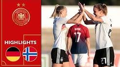DFB-Frauen ziehen klar überlegen ins Finale! | Deutschland - Norwegen 4:0 | Highlights | Algarve-Cup