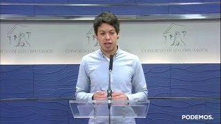 Comparecencia de Segundo González tras la participación en el encuentro de la OCDE