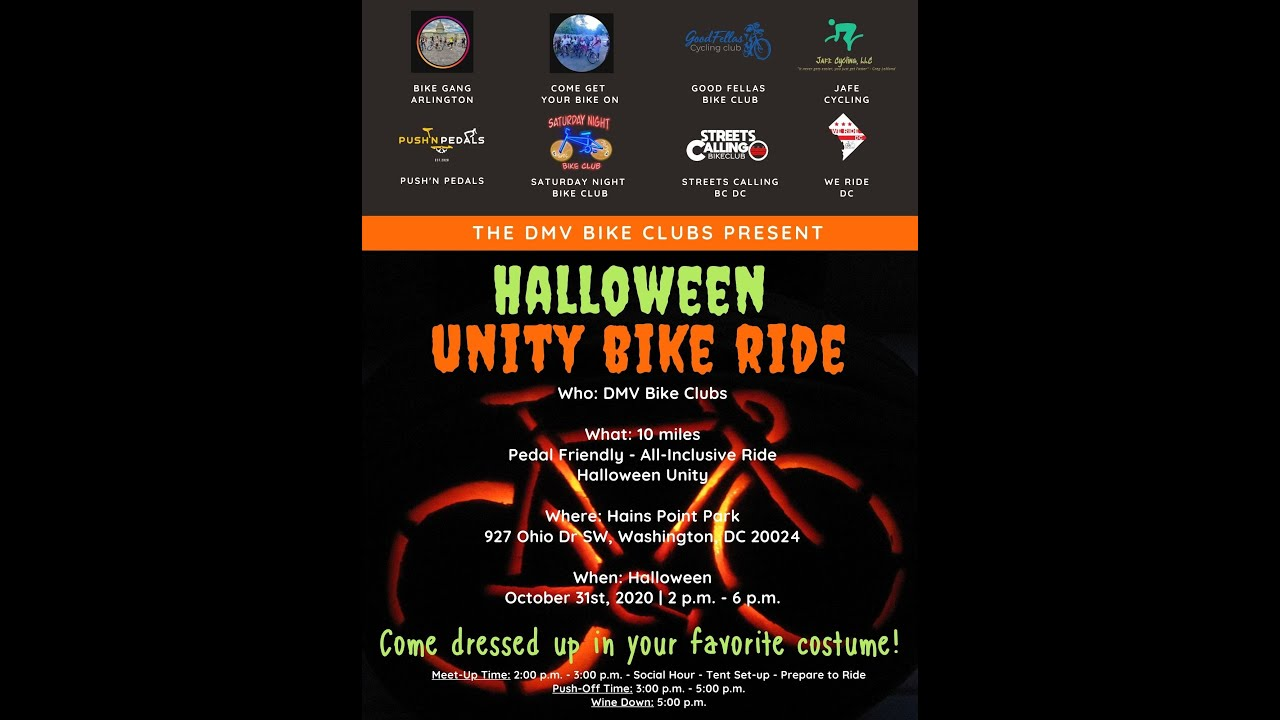 DMV Bike Clubs Unity Ride