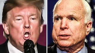 Trump Whines That Deceased John McCain Didn't Thank Him For His Funeral