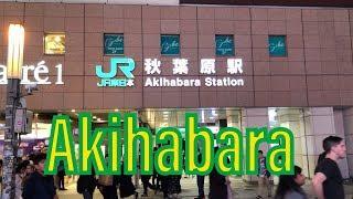 Phố Điện Tử Akihabara II Cuộc Sống Nhật II Muti Vlog