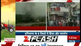 Haryana: Army and paramilitary force deployed in Rohtak after Jat movement