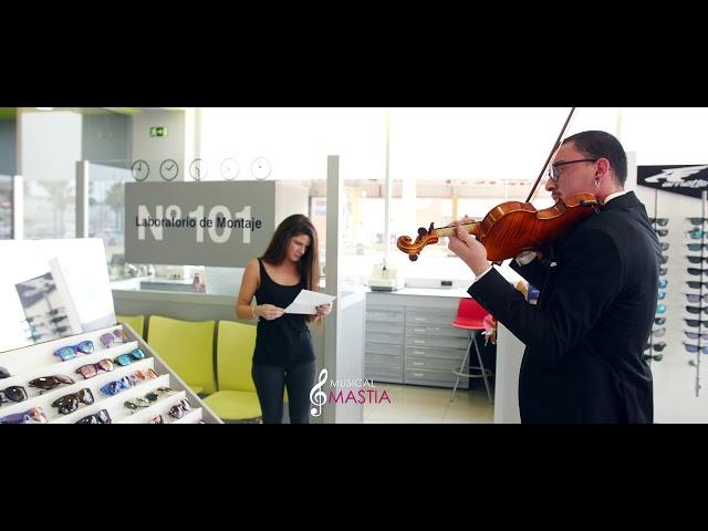 💘 Sorpresa a la novia en el Trabajo | Musical Mastia | Ramo de Flores Sorpresa