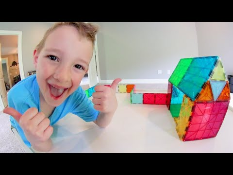 MY FAVORITE TOY EVER! / Magnet Blocks!