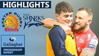 Exeter v Sale HIGHLIGHTS | Tense Finale In Sandy Park Shock! | Gallagher Premiership