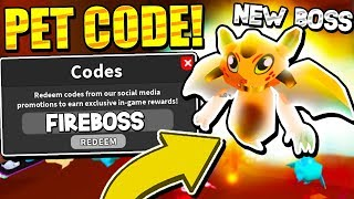 SECRET PET CODE AND MAGMORAUG BOSS IN GHOST SIMULATOR UPDATE! Roblox