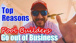 Top Reasons Pool Builders Go Out of Business