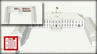Hier residiert der Präsident: Das Schloss Bellevue
