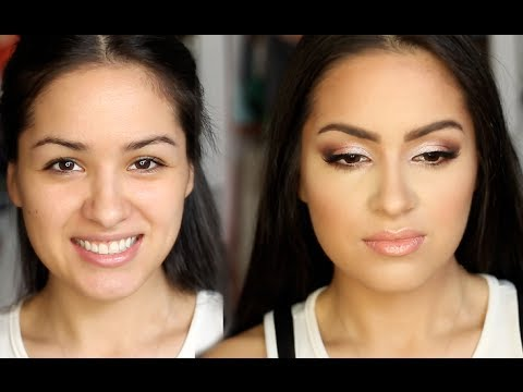 full face prom makeup look for small eyes  youtube