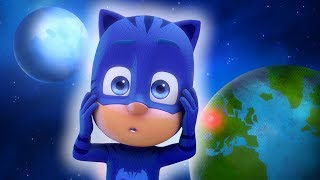 PJ Masks en Español - PJ Masks Los villanos Roban La Luna - 1 Hora - Dibujos Animados