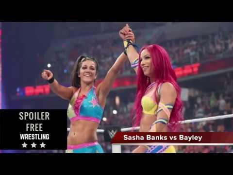 Sasha Banks vs Bayley One-On-One Statistics