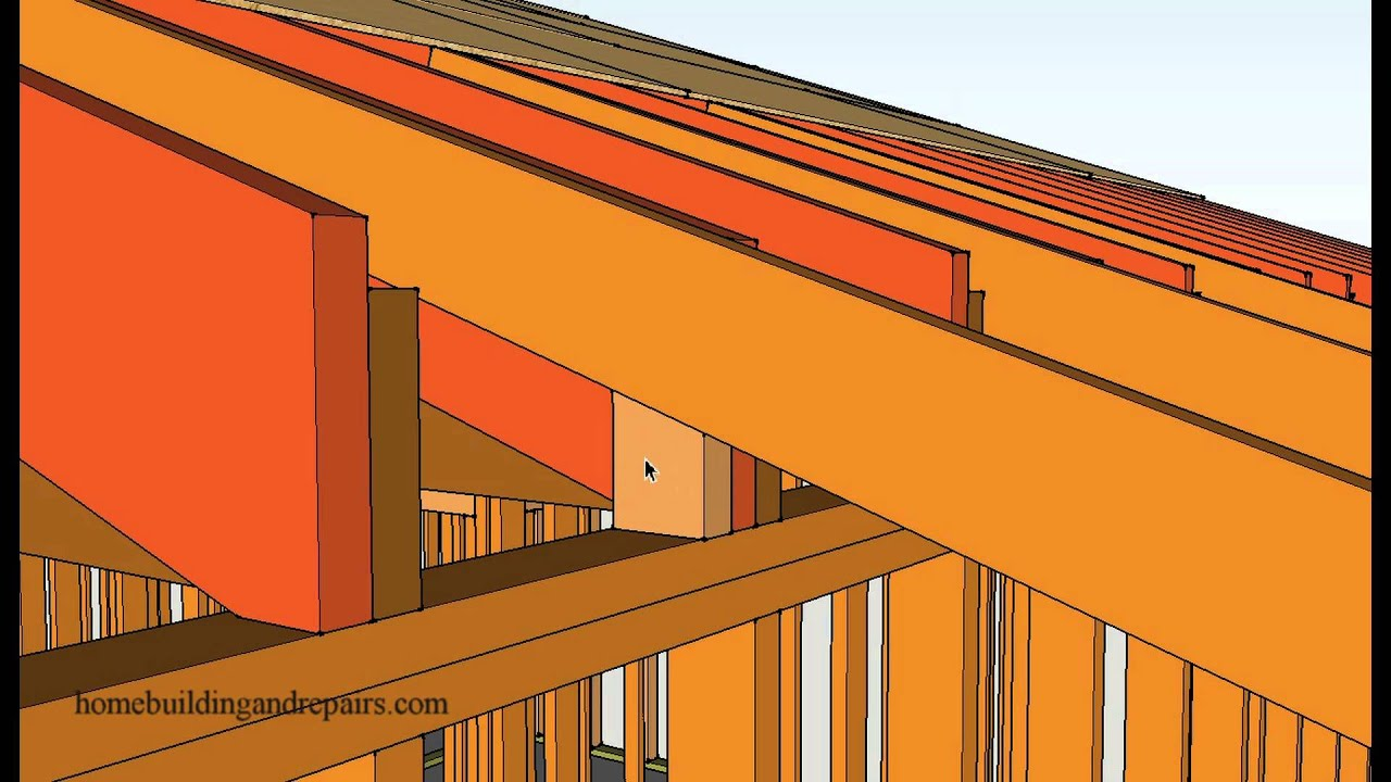 How To Extend Or Add A Roof Overhang Building